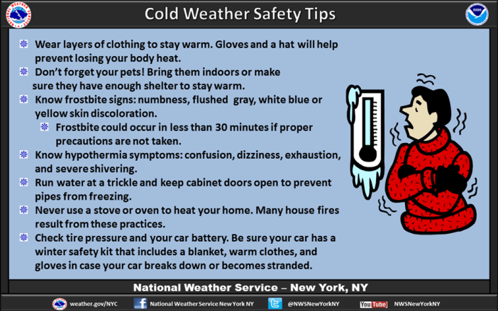 nws cold weather safety tips